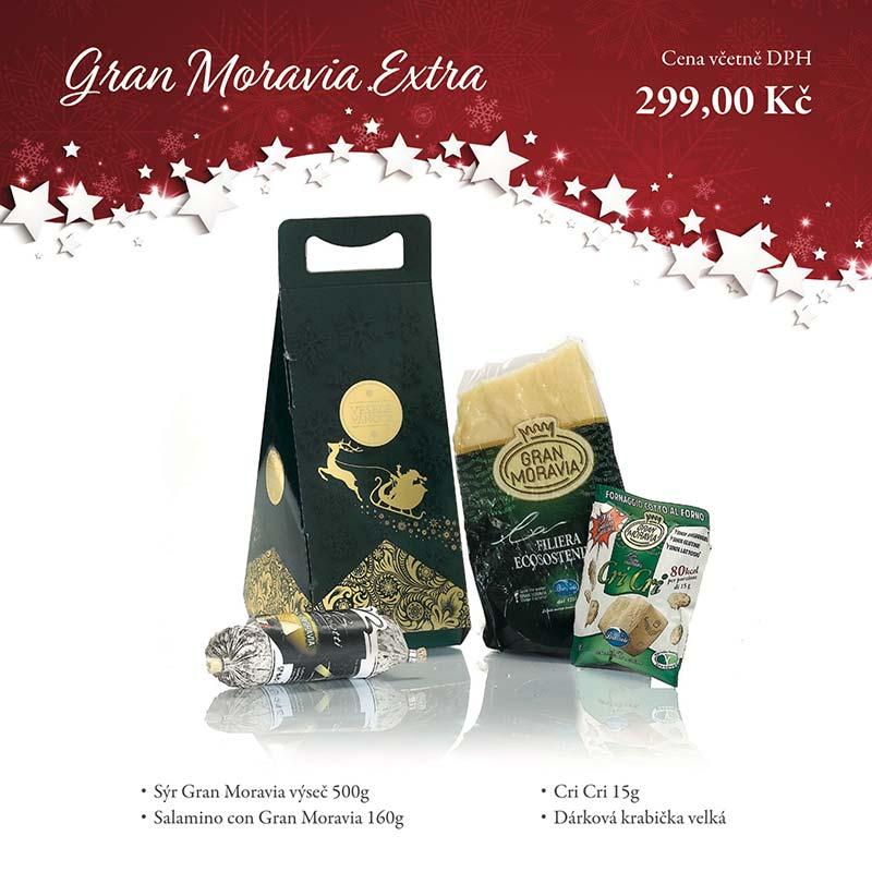 Gran Moravia Extra - Dárkových balíčcích