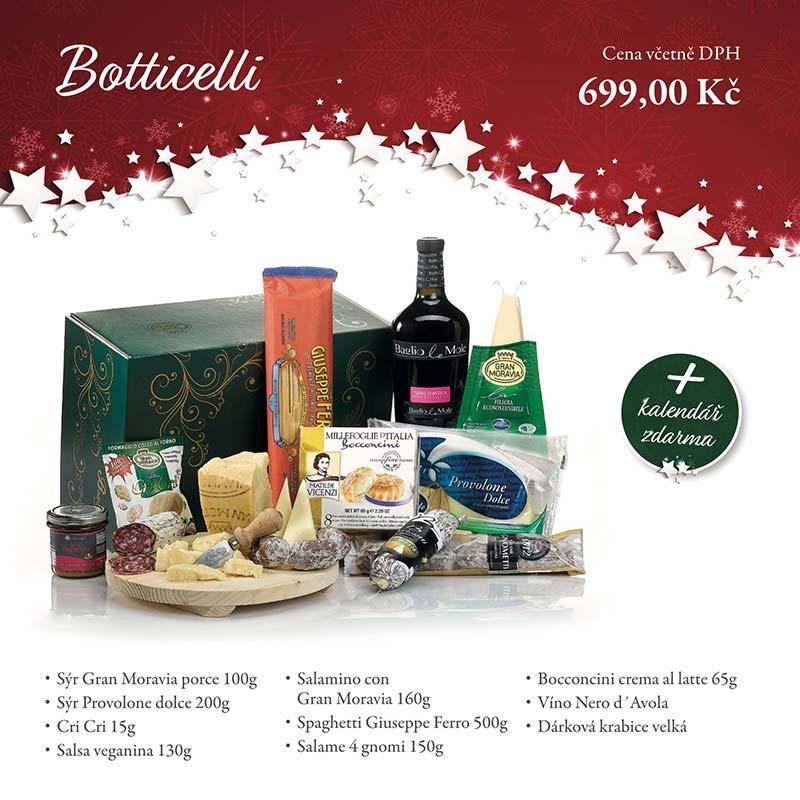 Botticelli - Dárkových balíčcích