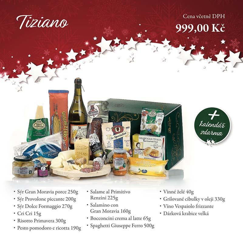 Tiziano - Dárkových balíčcích